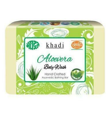 Meghdoot Khadi Ayurvedic Aloevera Body Wash 125 gm