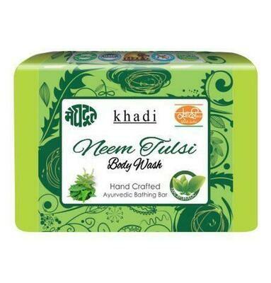 Meghdoot Khadi Ayurvedic Neem Tulsi Body Wash 125g