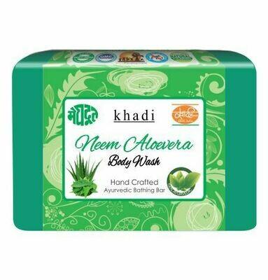 Meghdoot Khadi Ayurvedic Neem Aloevera Body Wash 125 gm