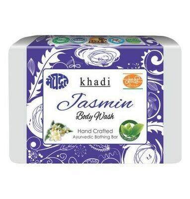 Meghdoot Khadi Ayurvedic Jasmine Body Wash 125g