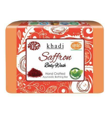 Meghdoot Khadi Ayurvedic Saffron Body Wash 125g