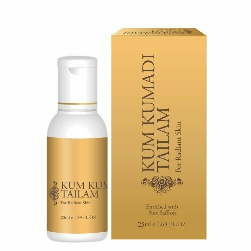 Vasu Kum Kumadi Tailam Oil For Radiant Skin 25ml