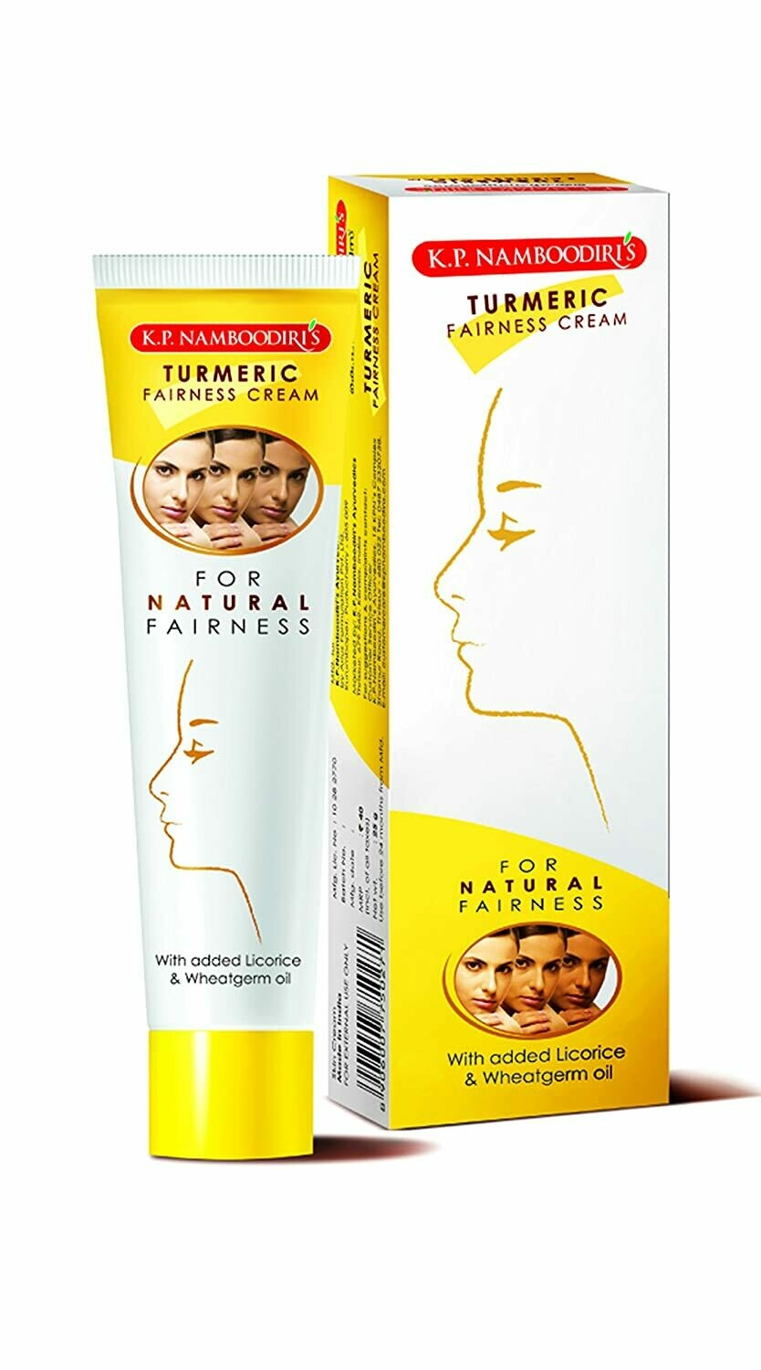 K.P. Namboodiri's Turmeric Fairness Cream 25g