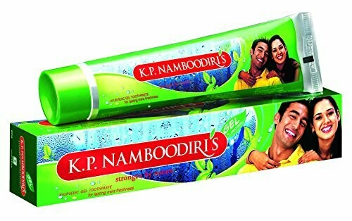 K.P. Namboodiri's Herbal Gel Toothpaste 40g