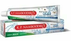 K.P. Namboodiri's Herbal White Natural Salt Rock Salt - Induppu Toothpaste 50g