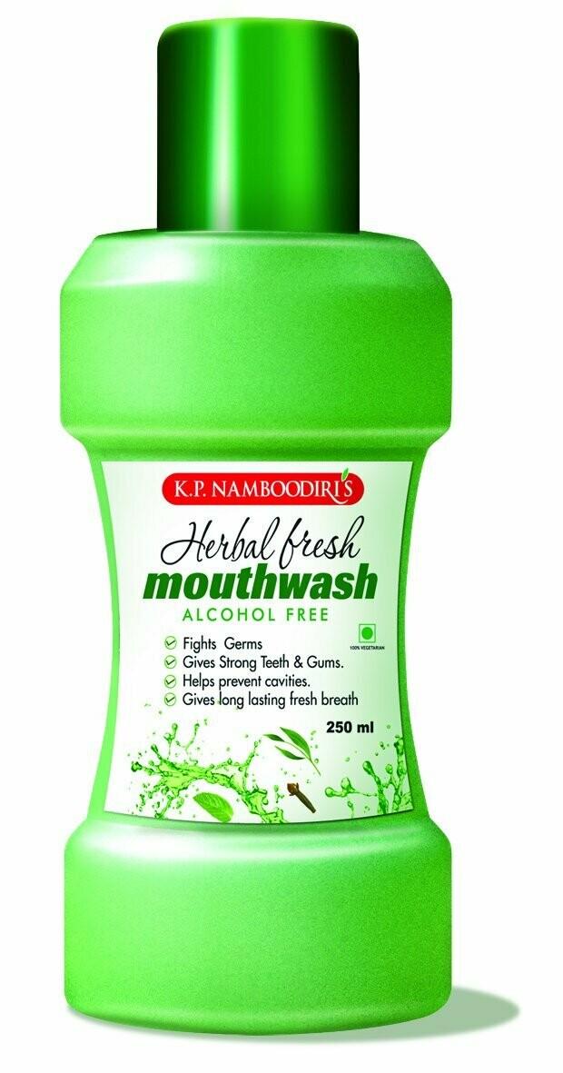 K.P. Namboodiri's Herbal Fresh Mouth Wash 250ml