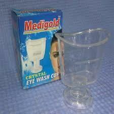 Medigold Crystal Eye Wash Cup