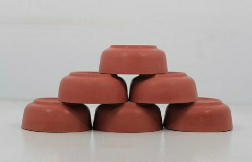 Mitti Cool Classic Clay Dessert Bowl Set 6 pieces