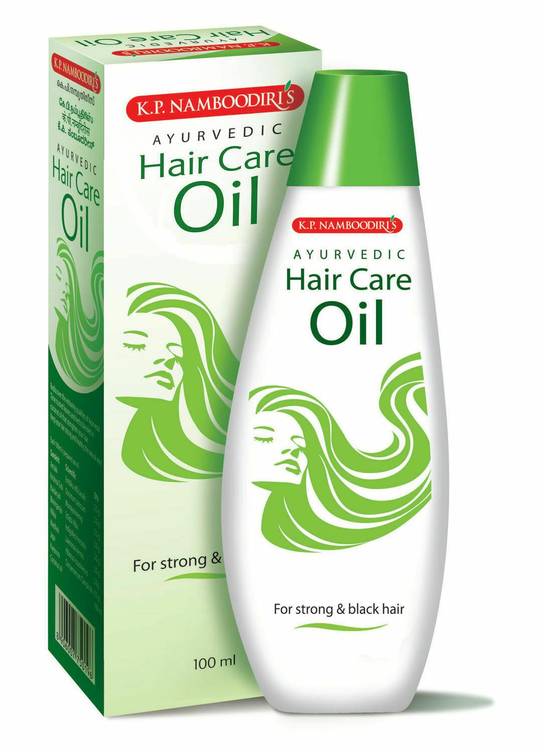 K.P. Namboodiri's Ayurvedic Hair Care Oil