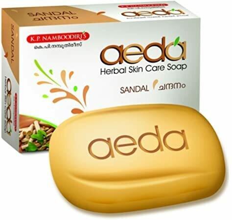 K.P. Namboodiri's Aeda Natural Sandal Soap 75g