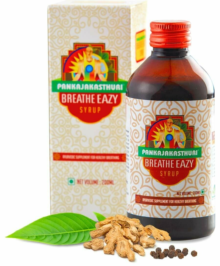 Pankajakasthuri Breathe Eazy Syrup 200ml