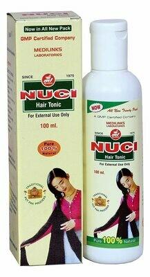 Syrup Nuci Hair Tonic For Personal Medilinks Laboratories 100ml