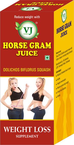 VJ Herbal Horse Gram Extract 500ml
