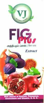 VJ Herbal Fig+Pomegranate Extract 500ml