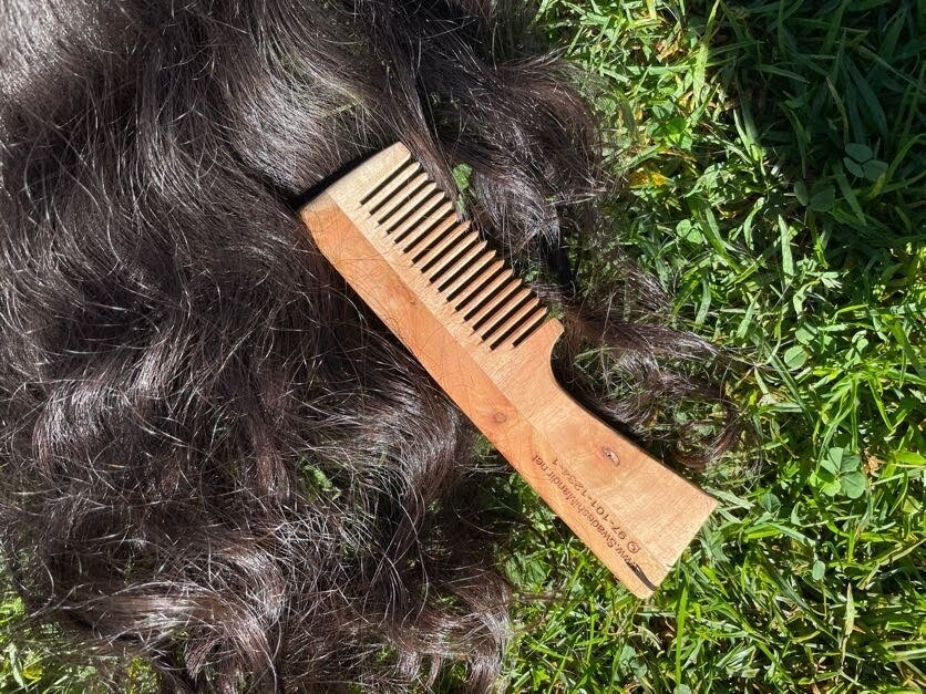 Ecofriendly Biodegradable Neem Wood Comb