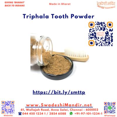 Triphala Tooth Powder 50g