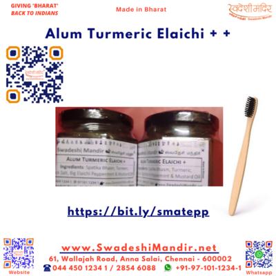 Alum Turmeric Eliachi++ 50g