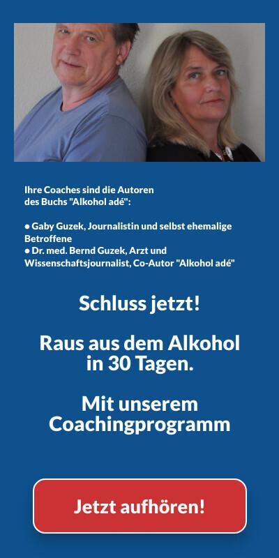 Multimediales 30-Tage-Coaching-Programm Alkohol adé