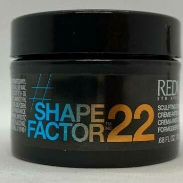 Shape Factor 22 Sculpting Cream-Paste, .68oz Travel