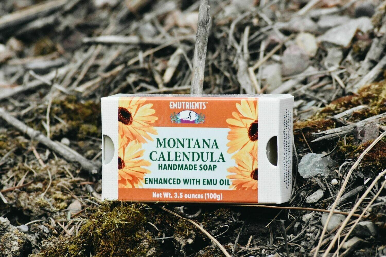 ANHS-M Montana Calendula Soap w/ emu oil
