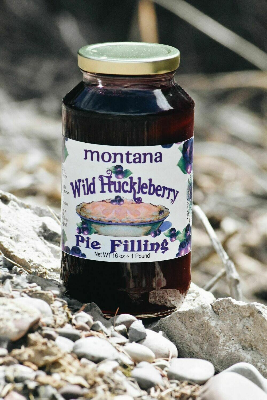 Huckleberry Pie Filling 16oz