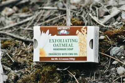 ANHS-O Oatmeal Soap w/ emu oil