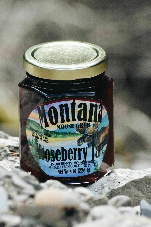 Mooseberry Jam 8oz $7