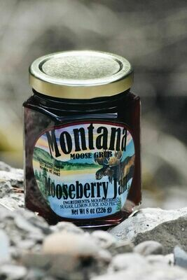 Mooseberry Jam 8oz $7