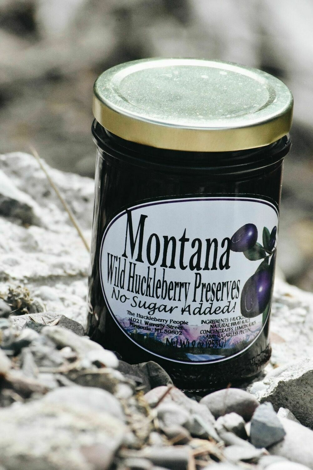 Huckleberry Spread No Sugar Added