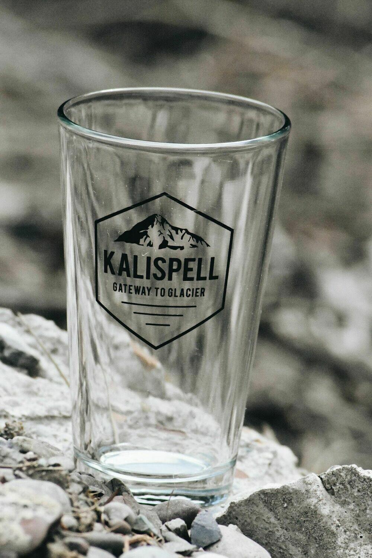 1 Kalispell Beer Glass $10