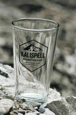 Kalispell Beer Glass