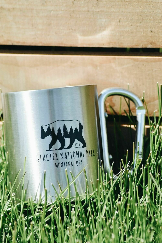 GNP carabiner mug