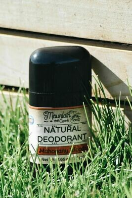 Mahogany Woods Natural Deodorant