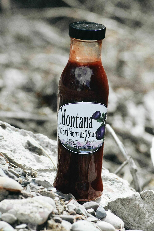 MT Huckleberry BBQ Sauce