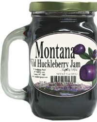 13oz Wild Huckleberry Jam $9.50
