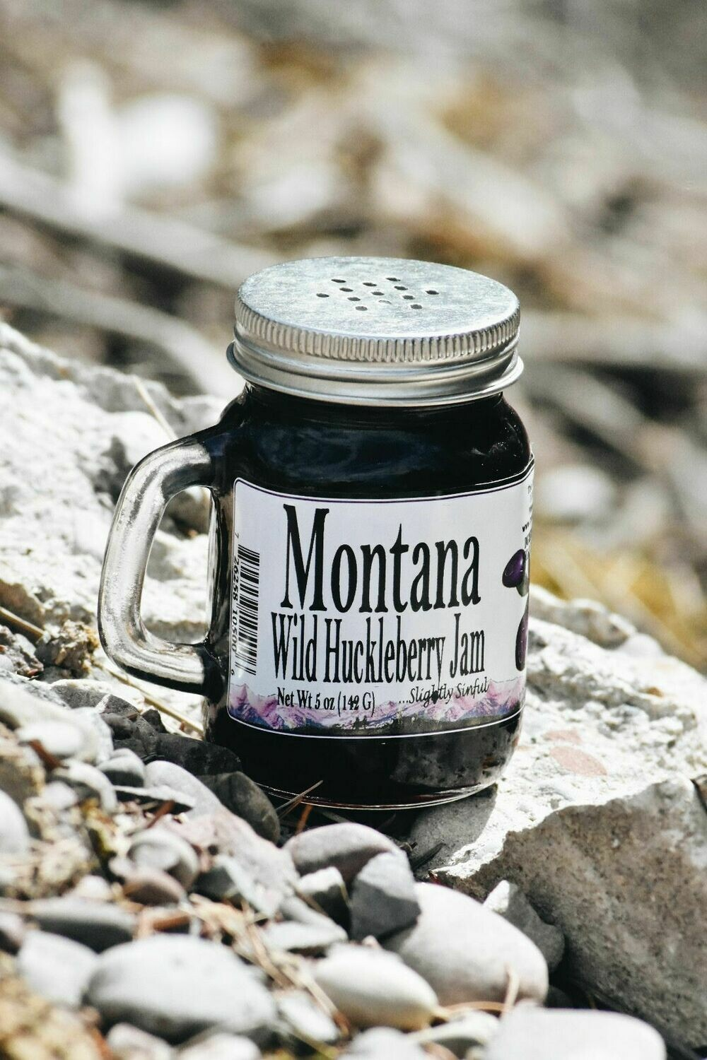Huckleberry Jam 5oz w/ Handle