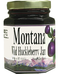 Huckleberry Jam 4oz $5