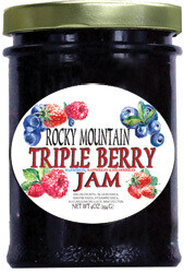 Triple Berry Jam 9oz $7.50
