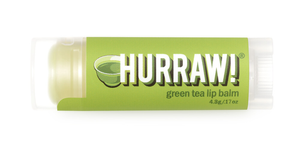 Green Tea Lip Balm Hurraw!