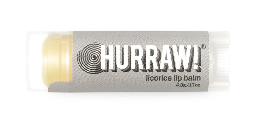 Licorice Lip Balm Hurraw!