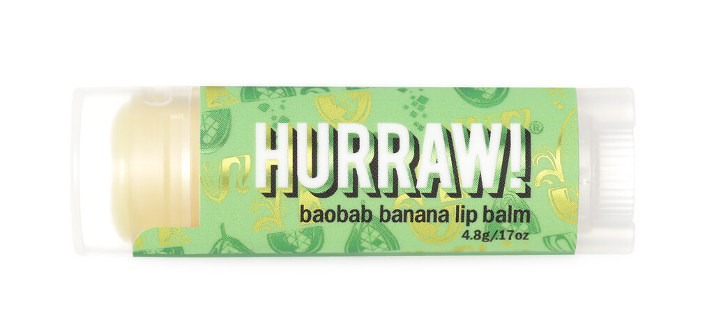 Baobab Banana Lip Balm Hurraw