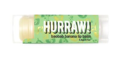 Baobab Banana Lip Balm Hurraw