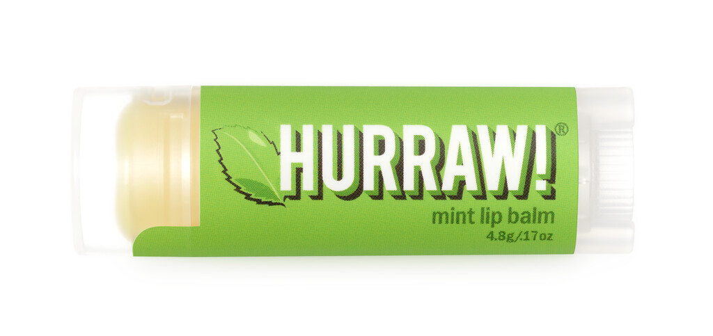 Mint Lip Balm Hurraw $4
