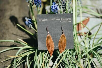 26-1-5 Handcrafted Copper Earrings $25