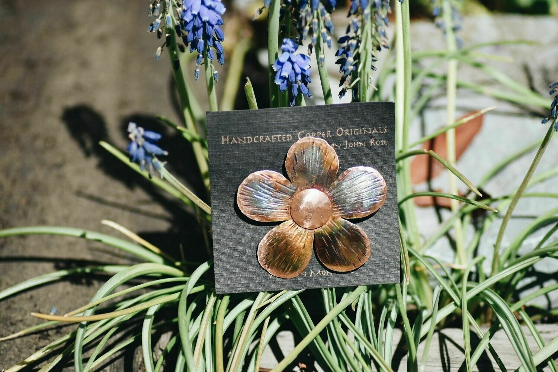 26-6-7 Floral Pin $24