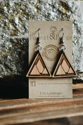25-5 Wood Earrings $28