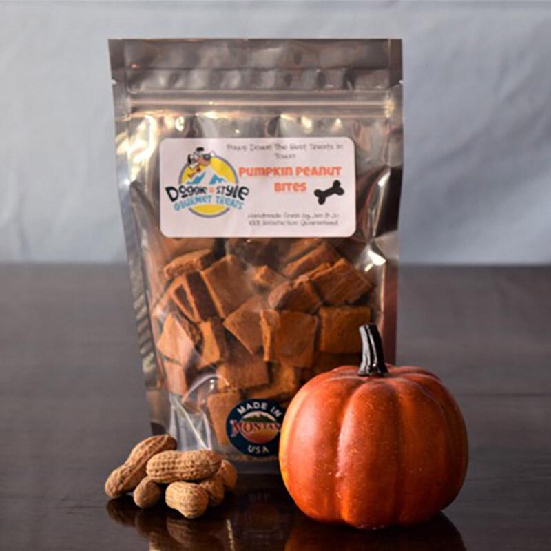 Pumpkin Peanut Bites