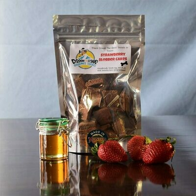 Strawberry Slobber Cakes