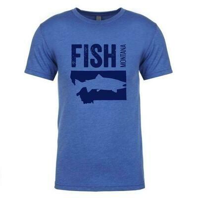 Fish Montana Unisex Tee
