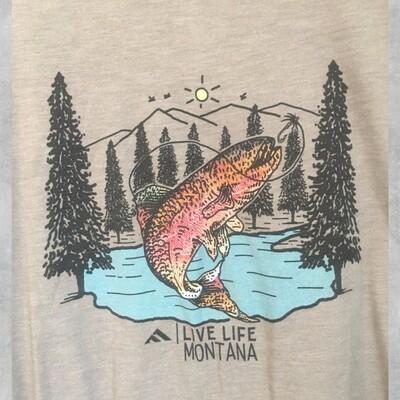 Live Life Fishing Unisex Tee